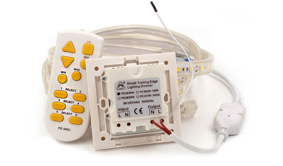 Variateur 230 volts strip dimmable
