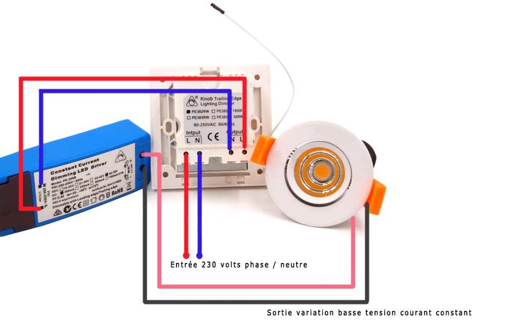 variateur basse tension courant constant