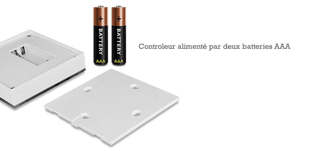 Controleur-mural-pour-variateur-d'intensité-Mi-light-batterie