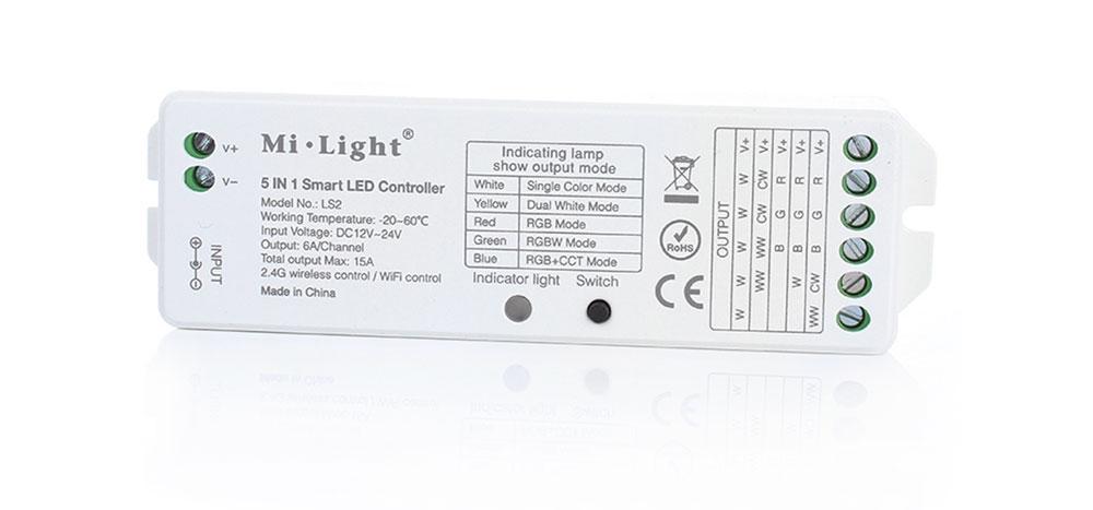 Contrôleur Mi-light LS2 LED 2.4G sans fil in