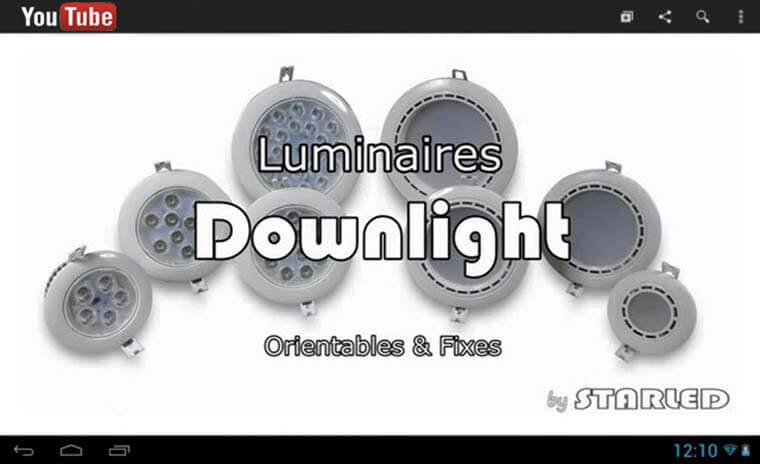 Lien downlight youtube starled