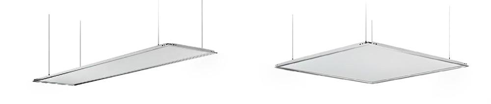 Kit quatre câble en acier inoxydable avec système de fixation pour panneau LED