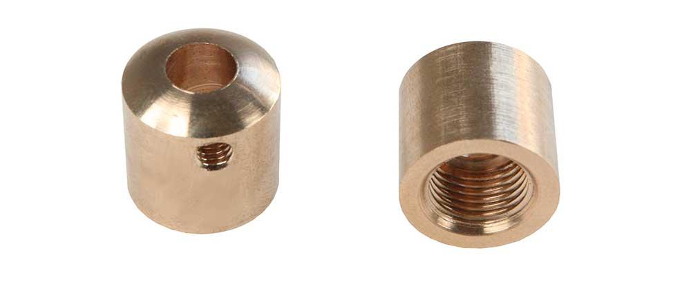Serre-câble électrique en laiton M10 diametre 15mm