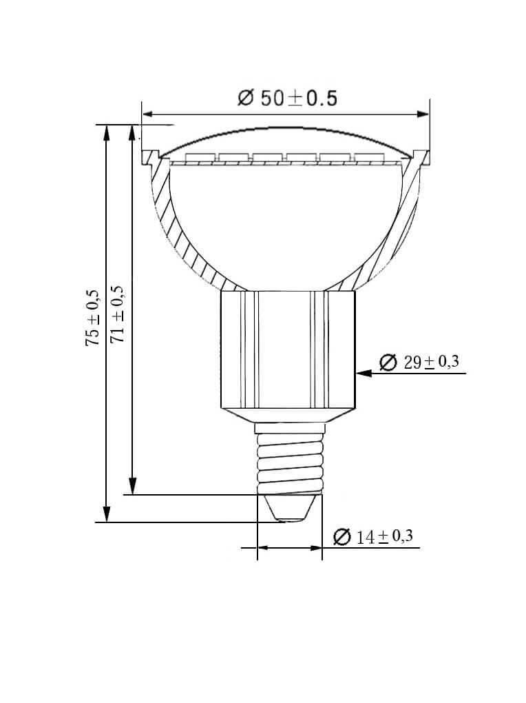 ampoule led 24smd E14